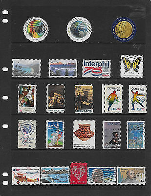 U.S.A. Selection of Commemoratives/Definitives.Used.(A)