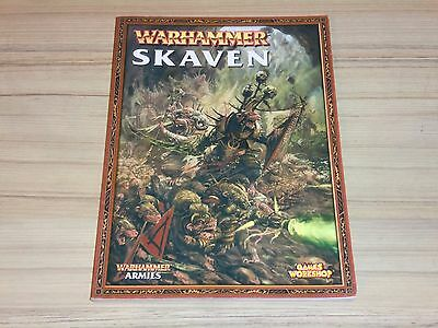 Warhammer Skaven Army Book 7th Edition - OOP