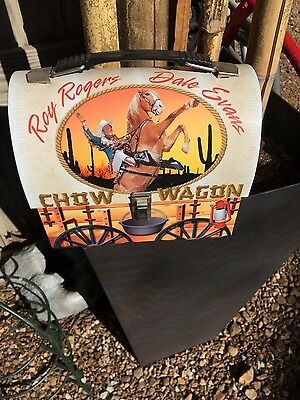 roy rogers chow wagon lunch box