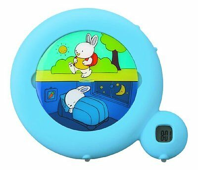 Claessens' Kids Sleep Classic Sleep Teaching Night Light Alarm Clock