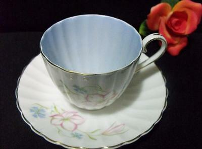 English 'susie Cooper ' Bone China Teacup & Saucer Set Signed England