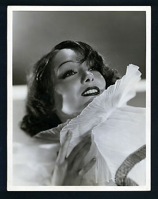 Sexy Lupe Velez Oversize Dblwt Photo By C S Bull - Early Mexican Star - 10X13