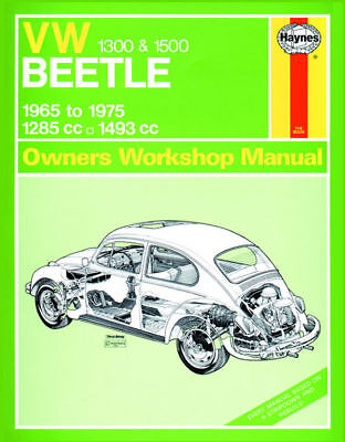 Volkswagen VW Beetle 1300 1500 65-75 Haynes Manual 0039