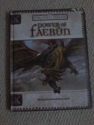 Power of Faerun by Greenwood & Boyd  Forgotten Realms  (hardback)
