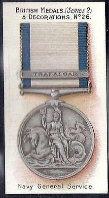 Taddy-British Medals & Decorations (Steel Back)-#26- Quality Card!!!