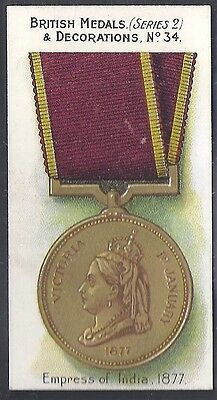 Taddy-British Medals & Decorations (Steel Back)-#34- Quality Card!!!