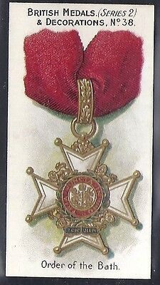 Taddy-British Medals & Decorations (Steel Back)-#38- Quality Card!!!