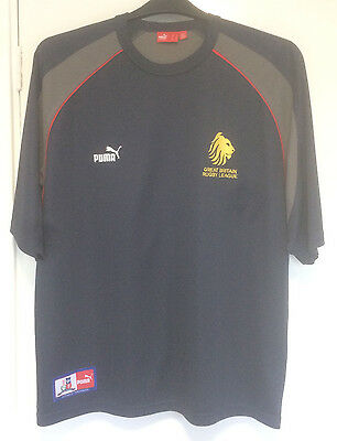 Puma,  Great Britain, British Isles,  XIII,  Rugby League,  T-Shirt,  size L