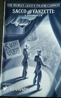 The People's Light & Theatre Company SACCO AND VANZETTI: A VAUDEVILLE 2/5/99