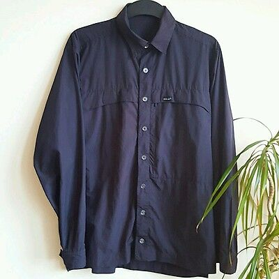 Paramo -  outdoor -  walking - lightweight - blue  shirt - new without tags
