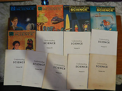 5X Old 1960s Understanding Science Magazines No.7 8 12 15 37 & 9X File Indexes