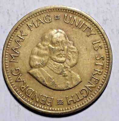 1963 1/2 C South Africa Coin