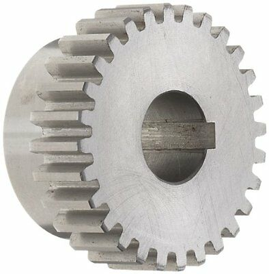 Boston Gear Nb12b Spur Gear, 14.5 Pressure Angle, Steel, Inch, 16 Pitch, 0.375""