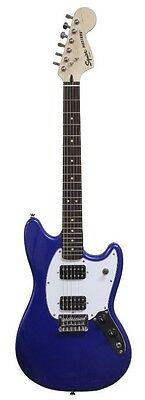 Squier Bullet Mustang E-Gitarre in Imperial Blue