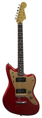 Squier Deluxe Jazzmaster ST in Candy Apple Red