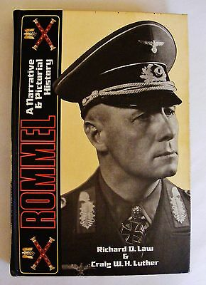ROMMEL WW2 GERMAN AFRICA CORPS HISTORY BOOK  First Edition  SIGNED and Numbered