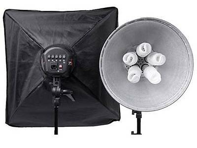 Interfit INT117 Super Cool-lite 5 Continuous Twin Head Lighting Kit