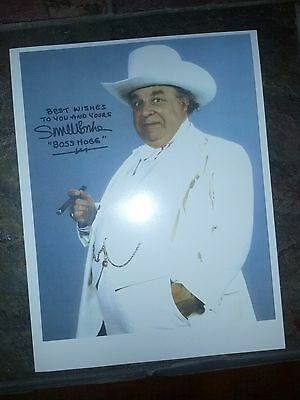 "Dukes of Hazzard Classic "" Boss Hogg""  Signed w/ Letter 1980 Photo"