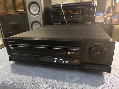 Nice Clean Vintage Tested Working NEC LaserVision Laserdisc Player LD-2000 Japan