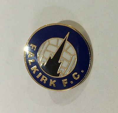 FALKIRK Football Club Badge FC Enamel Supporters Pin SCOTLAND SCOTTISH