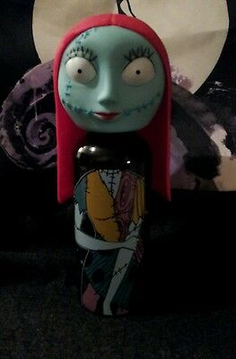 Nightmare Before Christmas SALLY Aluminum Water Bottle With Vinyl Head. New !!!