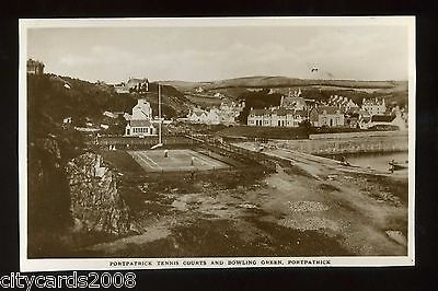 PORTPATRICK  /  BOWLS / TENNIS -   Bowling Green and Tennis Courts  RP
