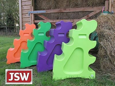 1pr (2) SLOPING PRACTICE BLOCKS MULTI SPREAD JUMP WINGS / Show Jumps *IN STOCK*
