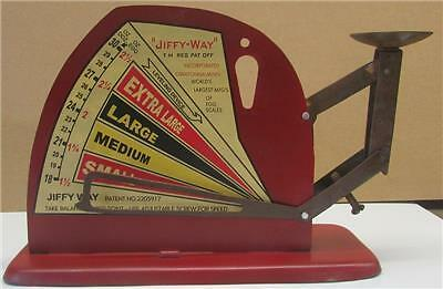 Jiffy Way Manufacturing Co. Egg Scale