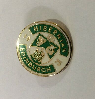 HIBERNIAN Badge Football Club FC Enamel Supporters Pin HIBS 1