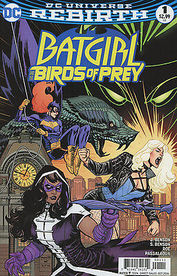 BATGIRL AND THE BIRDS OF PREY Rebirth + #1-5 + Variants DC Huntress Black Canary