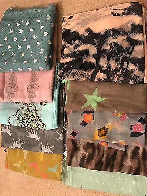Job Lot Of Brand New Scarves