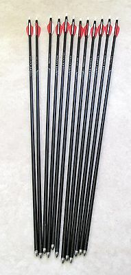 12 X Easton X7 Eclipse Arrows For Recurve Archery