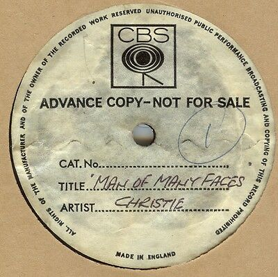 Christie***man Of Many Faces***acetate***unreleased ?? ***listen To It