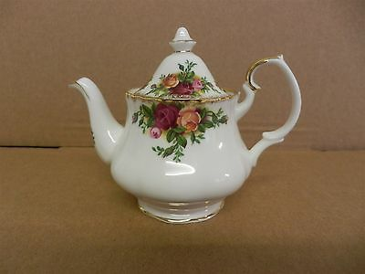 Royal Albert Old Country Roses England - Miniature Teapot - Bone China (2)