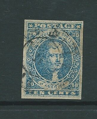 Usa Confederate States Ten Cents Forgery