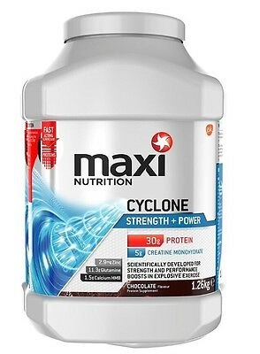 MaxiNutrition Cyclone Strength and Power Protein Powder - 1.26 kg, Chocolate