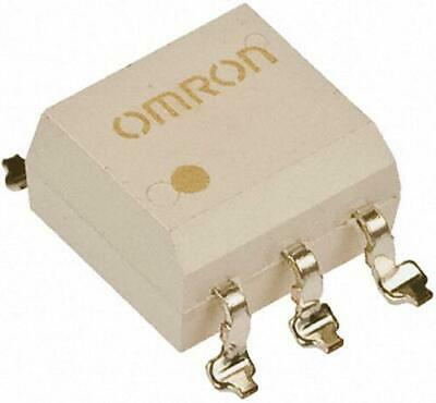 2 x Omron G3VM-401E Optocoupler MOSFET Solid State Relay 400V AC 120mA, DC 240mA