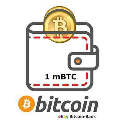 .001 BITCOIN Crypto Currency Guaranteed Deliver Direct to Your Wallet! Satoshi