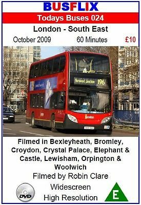 Busflix Films Todays Buses 24 London - South East   2009