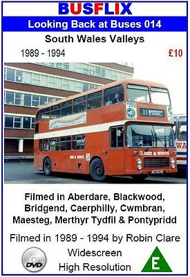Looking Back at Buses 14 South Wales valleys 1989 - 1994