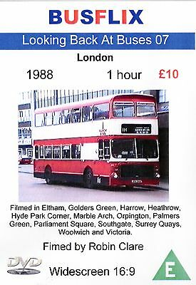 Looking Back at Buses 07 London 1988