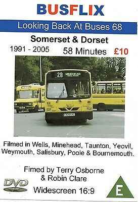 Looking Back at Buses 68 Somerset & Dorset 1991 - 2005