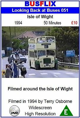 Looking Back at Buses 51 Isle of Wight 1994