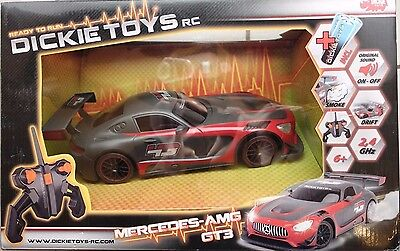 Dickie Toys 201119103 Mercedes AMG GT3 100% Ready to Run NEU OVP Rauch Funktion