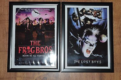 The Lost Boys A4 Framed Pictures (Pair)