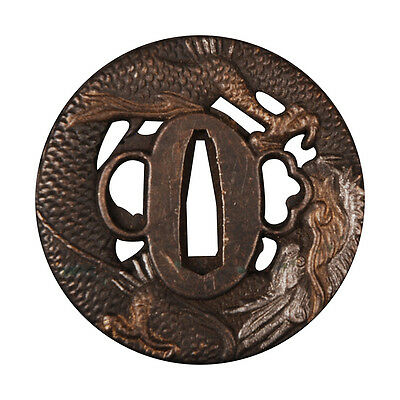 The Eagles Zinc Tsuba Japanese Samurai For Katana Wakizashi Tanto Guard