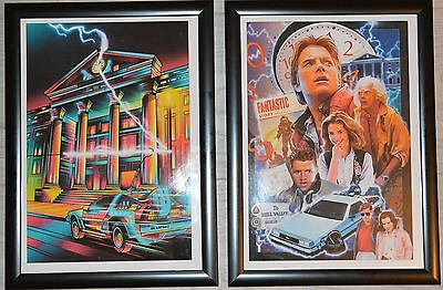 Back to the Future A4 Frame Pictures Set 1