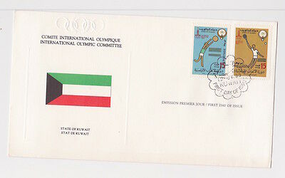 Kuwait Moscow Olympics 1980 FDC Cover