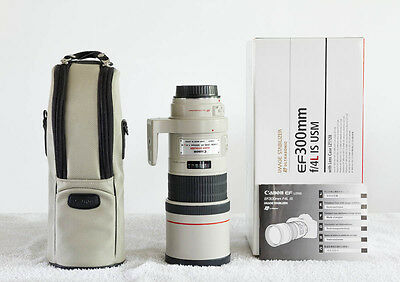 Canon EF 300mm f4 L USM IS UltraSonic. Come nuovo!