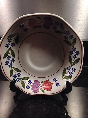 3  X Adams Ironstone Old Colonial Saucers